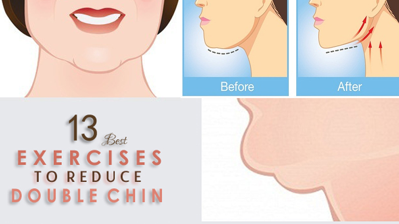 How To Reduce Double Chin Fast At Home Naturally