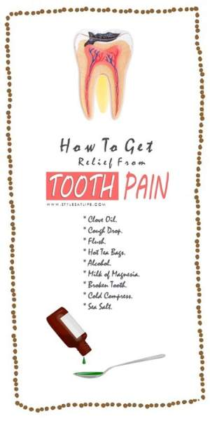 How to Get Relief From Tooth Pain