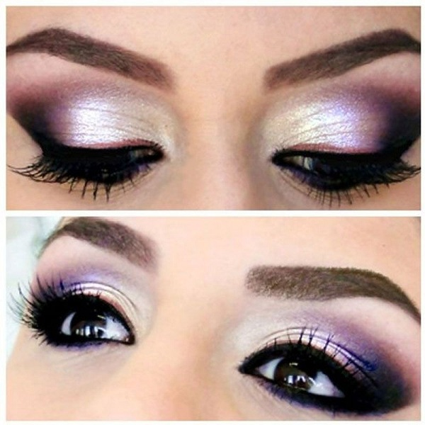 How to do Purple Eye Makeup