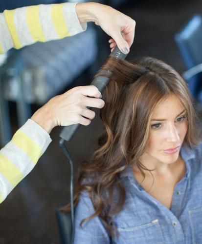 Ironed Curls