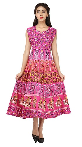 30 Comfortable Cotton Frocks For Women And Girl In Style