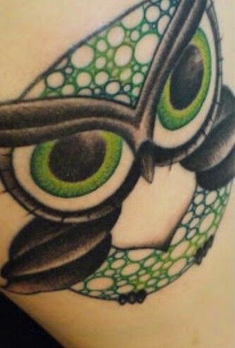 Japaneese Bat Tattoo