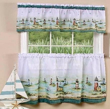 Kitchen Window Curtain Design