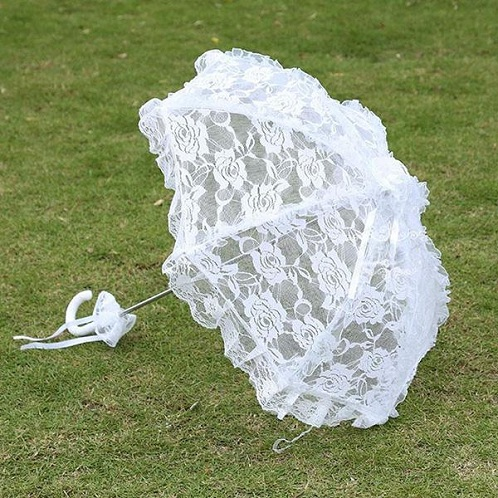 Lace Bridal Fancy Umbrellas