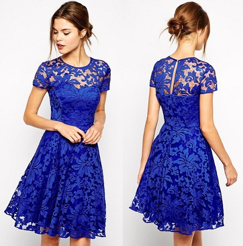 Lace-Up Frock