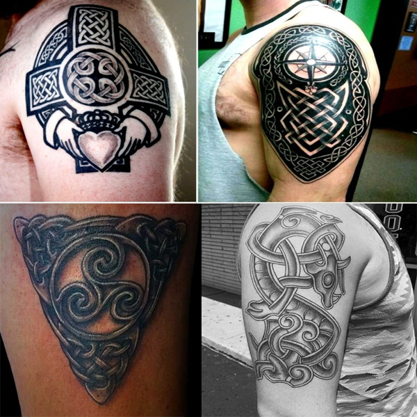 b71a68d6c 18 Latest Celtic Tattoo Designs To Adorn Your Body | Styles At Life