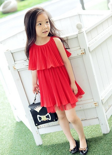 Layered Frills Baby Frock