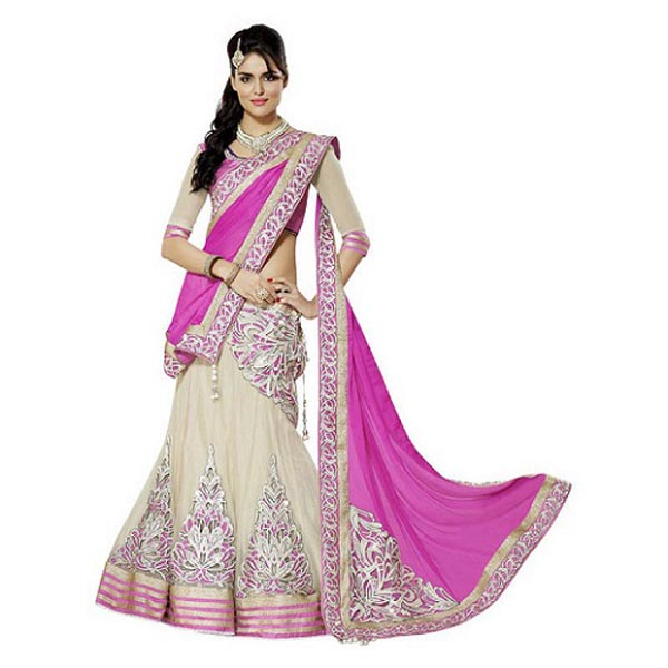 how to wear lehenga sarees