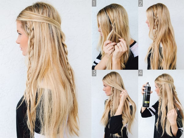 Long Hairstyle to Thin Face