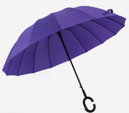 Long and Non-Foldable Umbrella