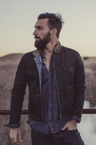Masculine Beard Style for Men