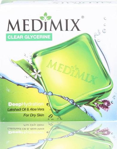 Medimix Lakshadi Oil and Aloe Vera Soap for Dry Skin
