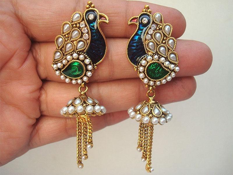 9 Latest Meenakari Jewellery Designs Styles At Life