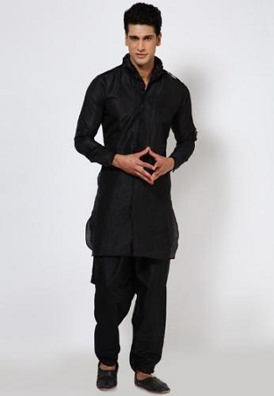 67102c79bd36 Kurta Pajama for Mens - Latest   Different Designs in 2018