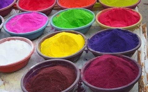 Mixed Colour Rangoli Powder