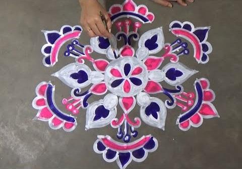 Modern Rangoli Design