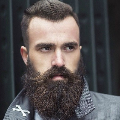 Moustache Beard Style