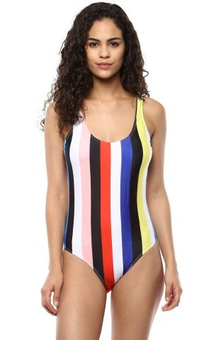 Multi-colour Swimsuit