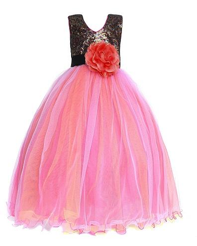 Multicolor Multi layer Dress