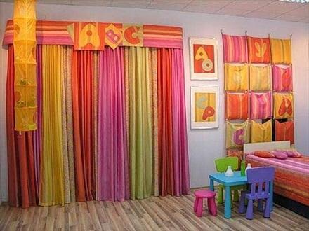 Nursery Curtain Pattern