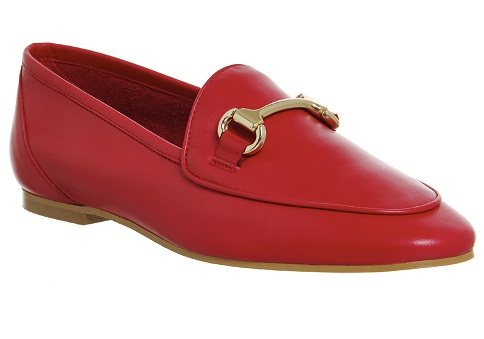 Stylish Red Loafers for Men and Women