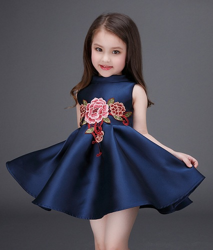 91efbf8e79682 50 New And Unique Baby Frock Designs With Images For 2018 | Styles ...