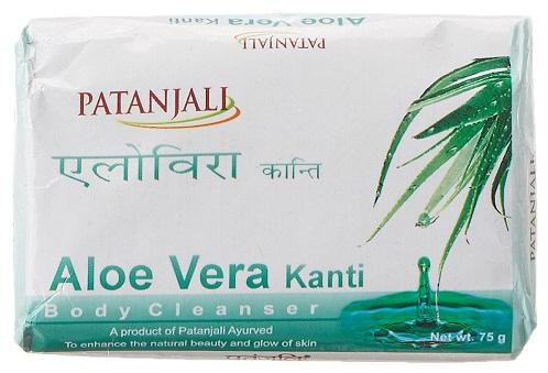 Patanjali Kanti Aloe Vera Body Cleanser Soap