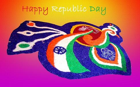Republic Day Rangoli