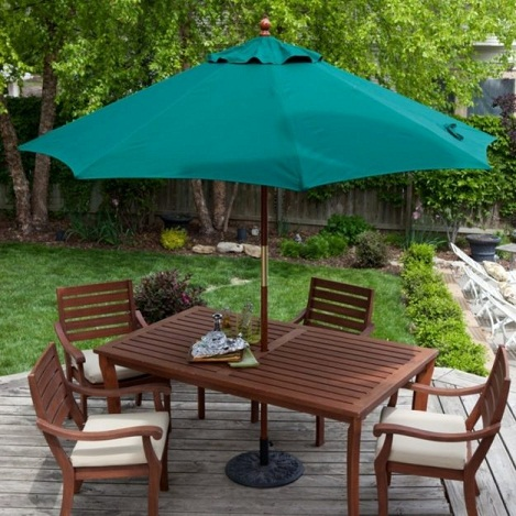 Perfect Exterior Patio Table Umbrellas