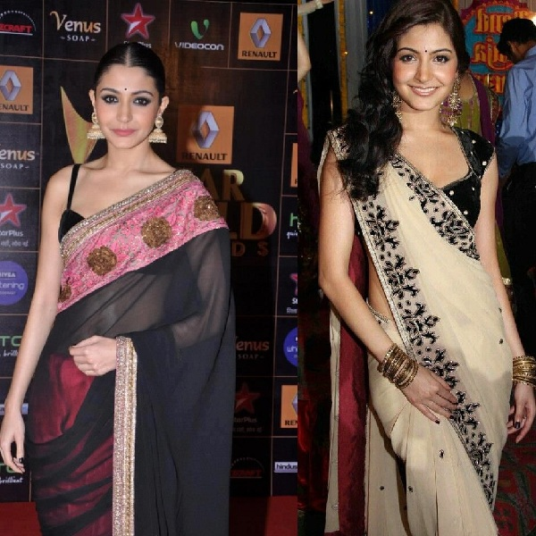 Pictures of Anushka Sharma In Saree