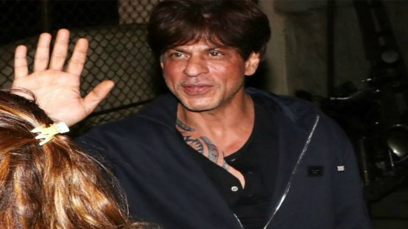 Shahrukh Khan With and Without Makeup