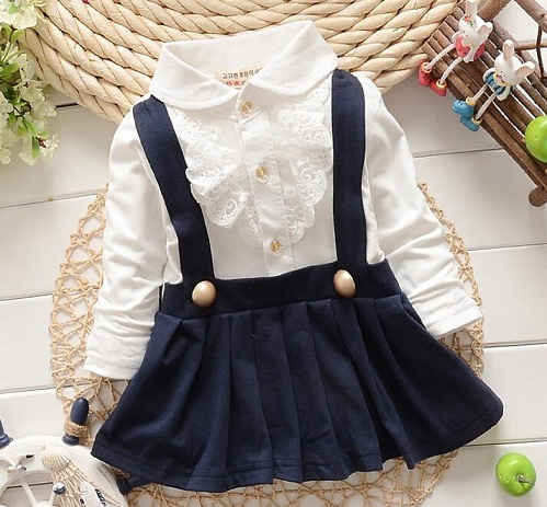 Pinafore Baby Frock