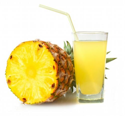 Pineapple Juice for Under Eye Wrinkles