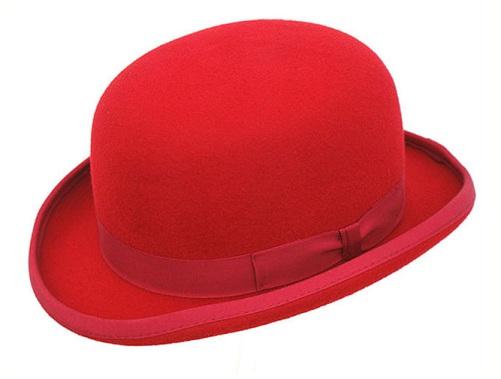 Plain Colored Classy Bowler Hats