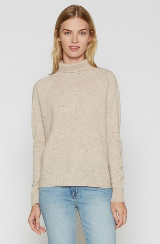 Polo Neck Cashmere Sweaters