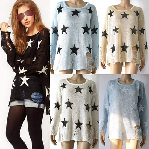 Printed Women's Sweater