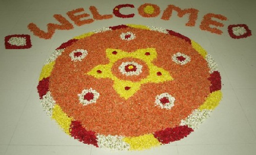 Rangoli Designs with Flower