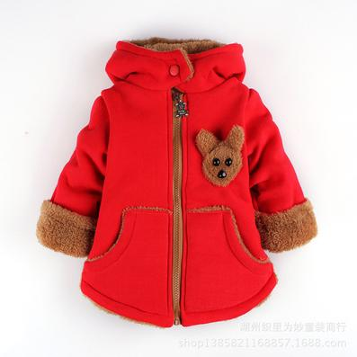 Red Celebrity Winter Coat