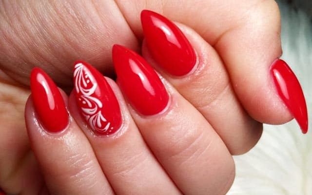 Red And Glossy Design