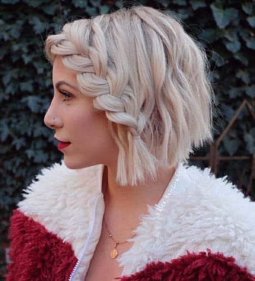 Braided Side Short Wave