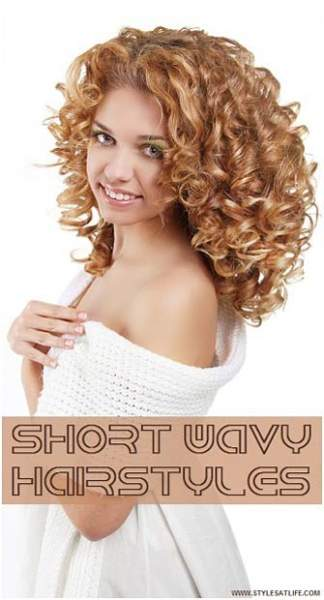 Short Wavy Hairstyles Main