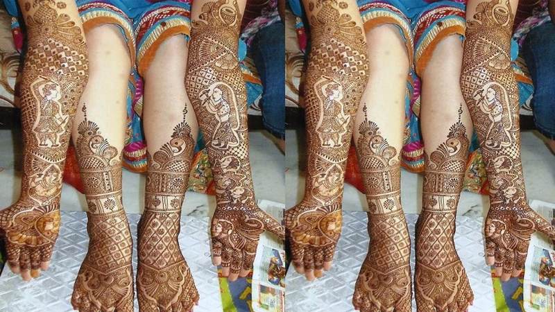 Mehndi Designs for Competition