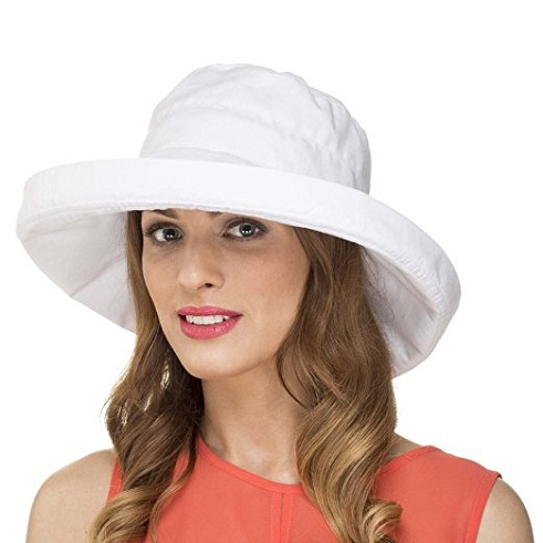 Slip on Style Shape able Women's Beach Hat