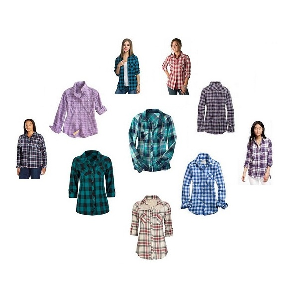 Plaid Womens Shirts