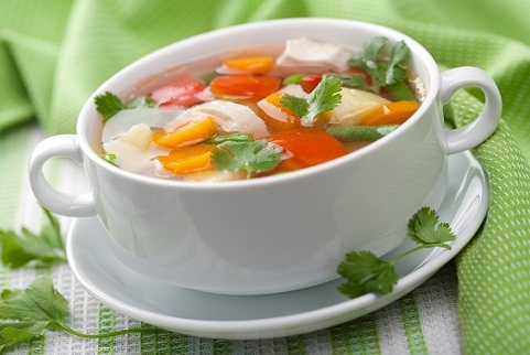 Soup Remedy for Cold in Kids