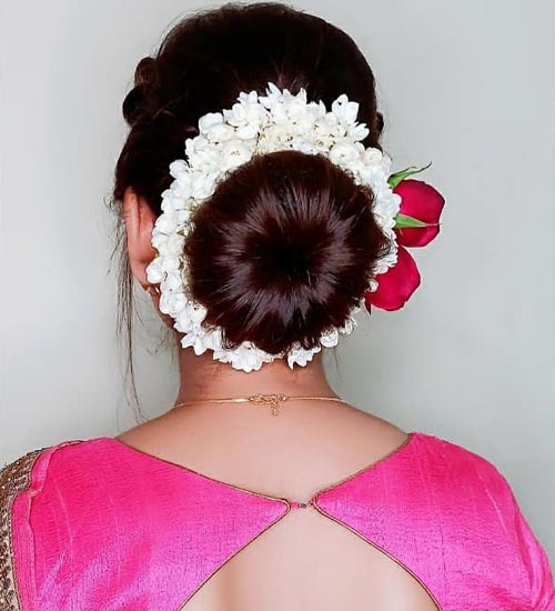 South Indian Hairstyles 10