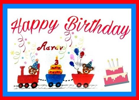 Special Rangoli for Children's on Birthday