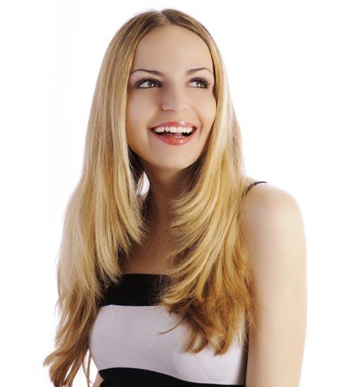 Straight Layered Hairstyles 1