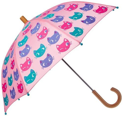 Striking Kitty Patterned Fancy Umbrellas