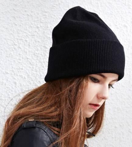 Stylish Plain Beanie Hats